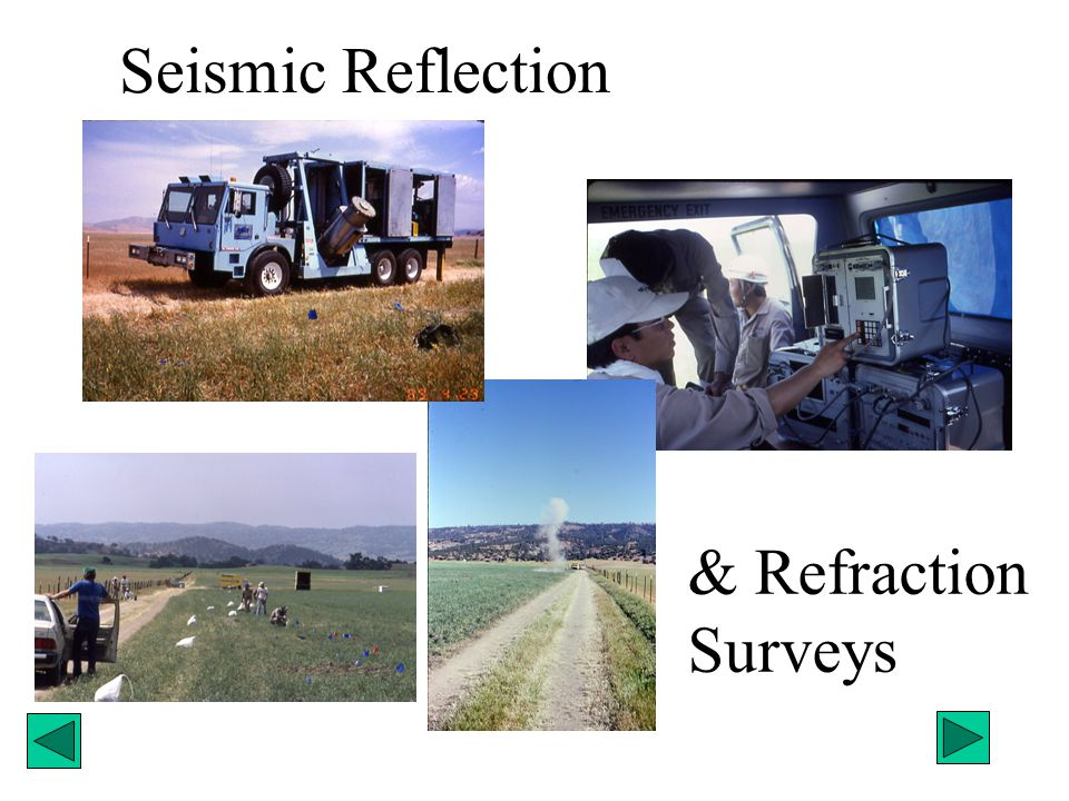 Seismic Reflection & Refraction Surveys