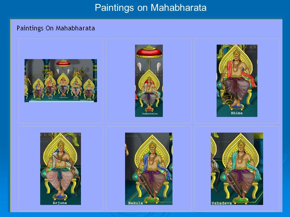 Paintings on Mahabharata