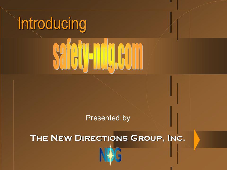 Introducing Presented by The New Directions Group, Inc.
