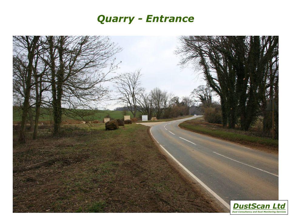 Quarry - Entrance