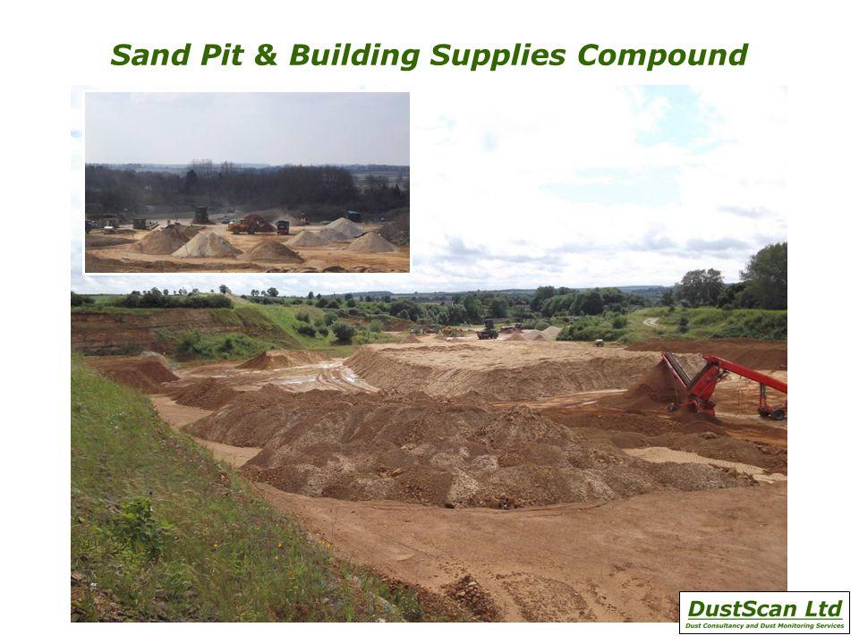 Sand Pit & Building Supplies Compound