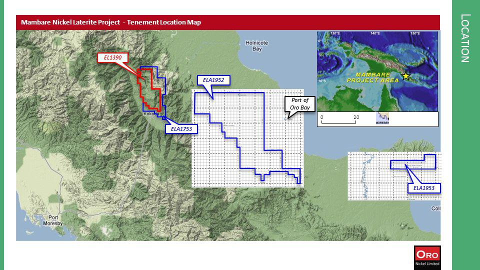 H ISTORIC EXPLORATION Map of historic explorationSummary of nickel / cobalt exploration, Mambare Key points… Massive resource upside – the high grade saprolite half of the deposit was never properly tested Anaconda estimated a target resource of 630Mt at 0.8% Ni, just in the limonite – inclusion of the saprolite could double the size and increase the grade Potentially one of the worlds largest single nickel laterite deposits