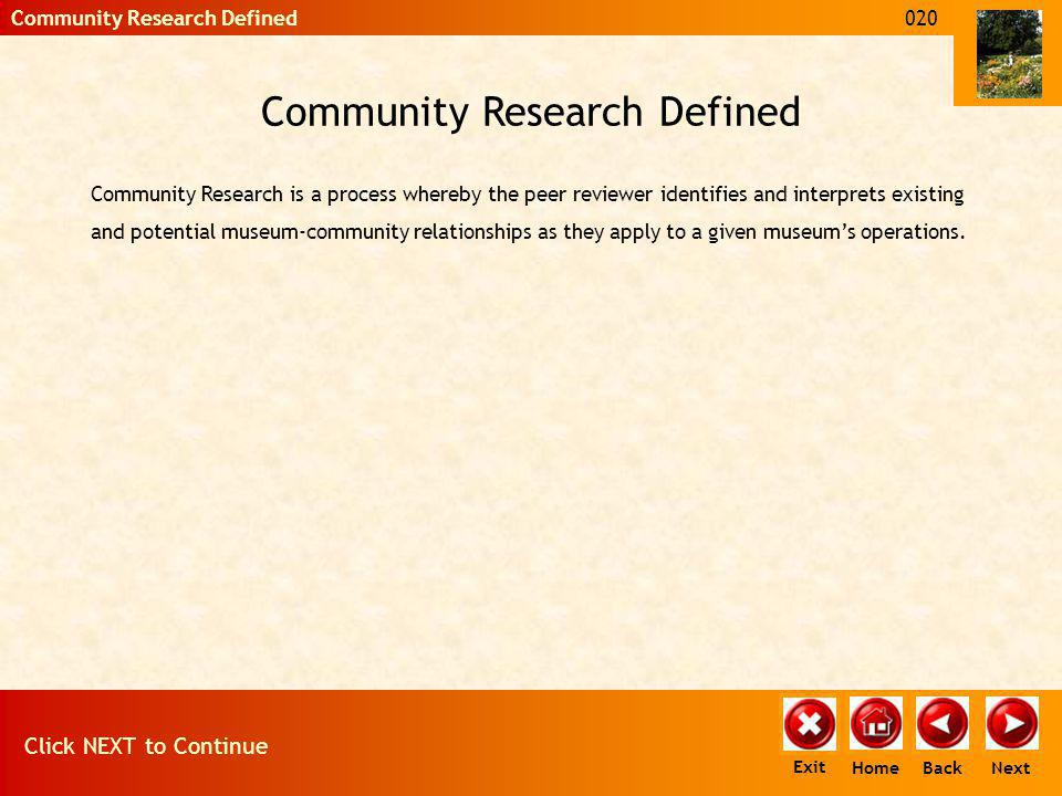 Community Research and the Assessment Critical Issue questions are divided into five Main Areas.
