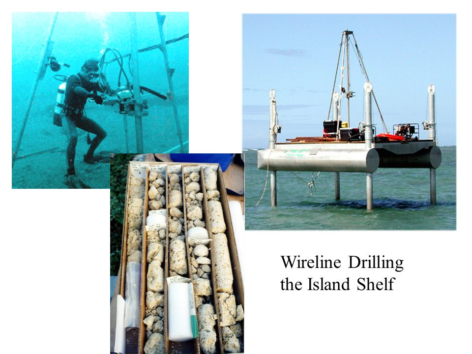 Wireline Drilling the Island Shelf