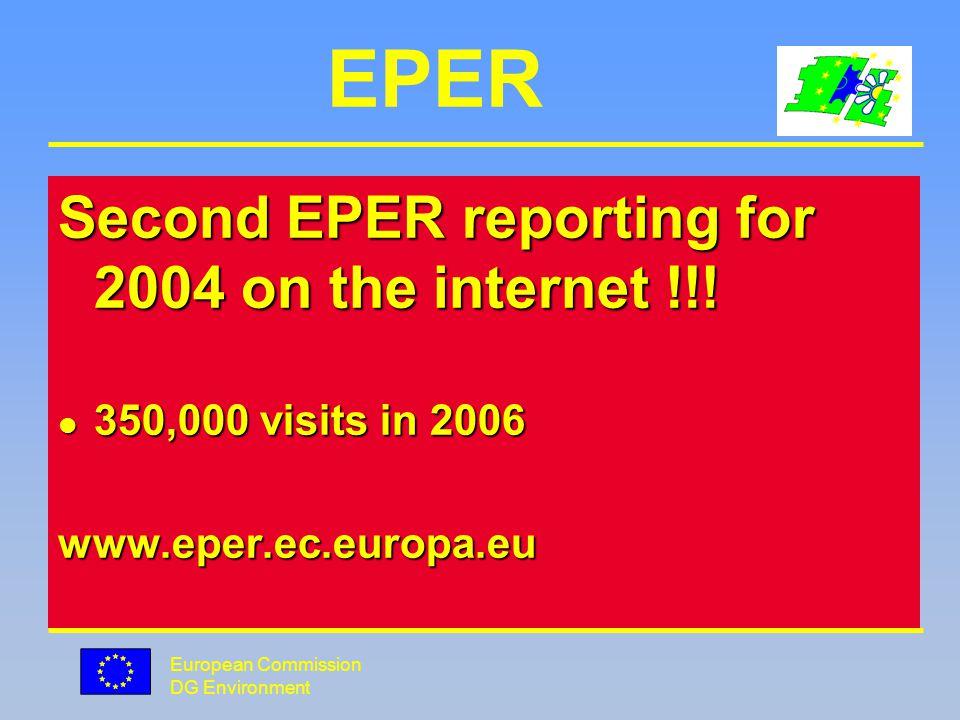European Commission DG Environment European PRTR Why ?