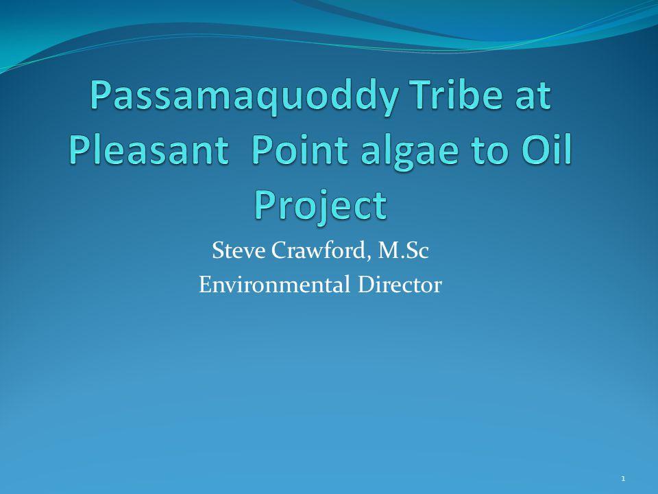 Steve Crawford, M.Sc Environmental Director 1