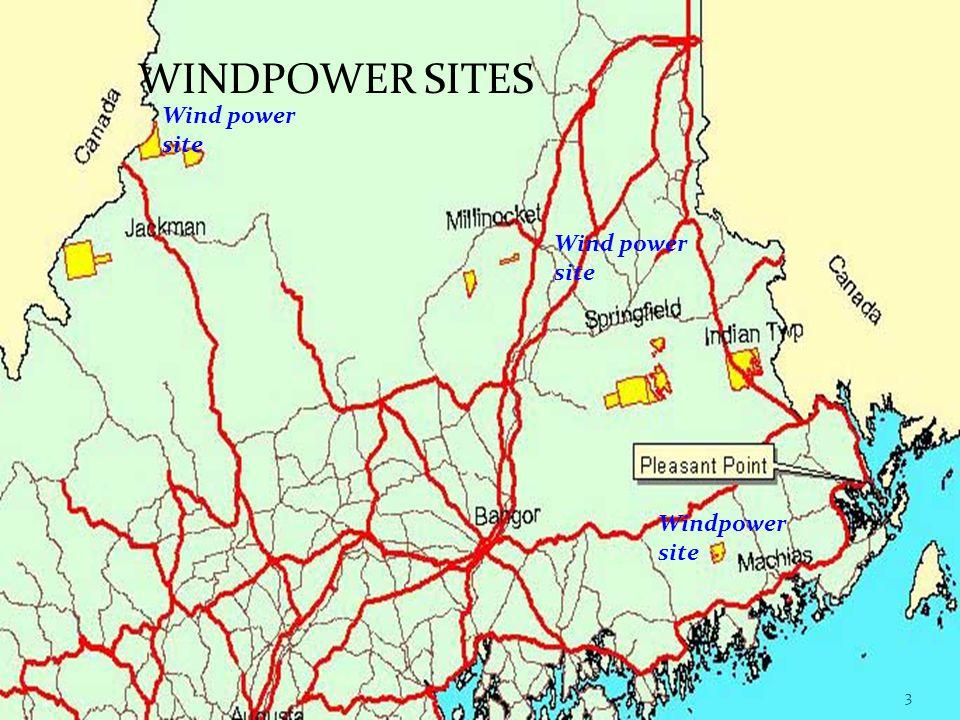 Wind power site WINDPOWER SITES Wind power site 3