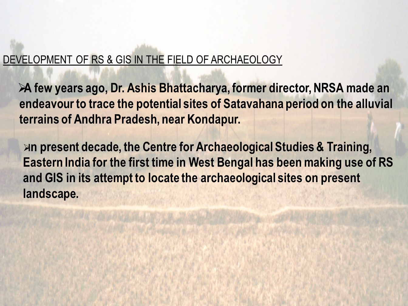 THE ARCHAEOLOGICAL DATABASE SEER( Spatially Extended Entity Relationship) Diagram of the Archaeological Database.