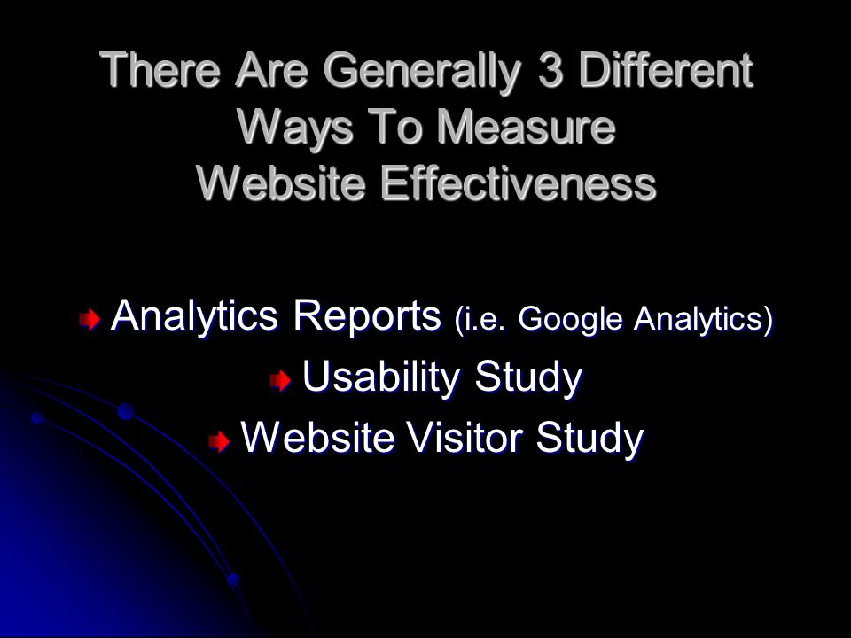 Analytics Reports (i.e.