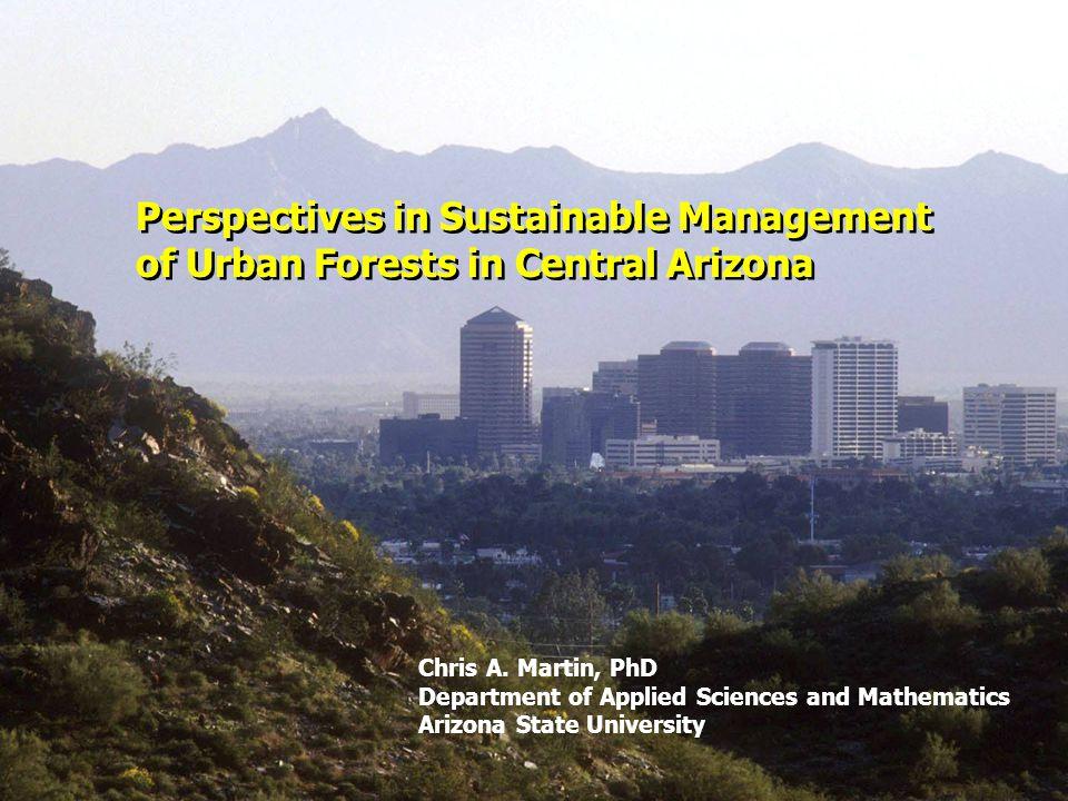 Acknowledgements Research Collaborators Dr.Bob Bolin, Arizona State University Dr.