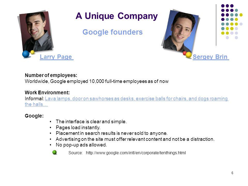 7 Why do we love Google.