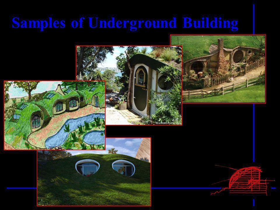 Samples of Underground Building