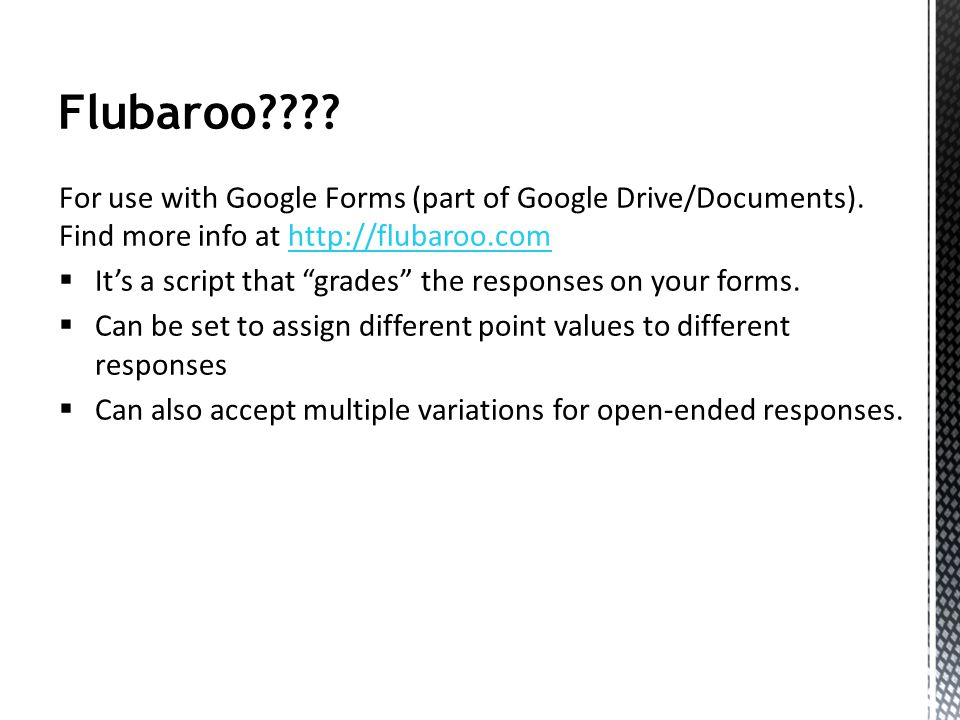Flubaroo???. For use with Google Forms (part of Google Drive/Documents).