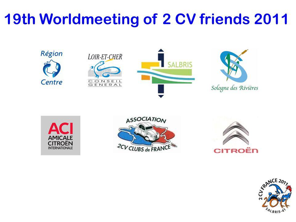 19th Worldmeeting of 2 CV friends 2011