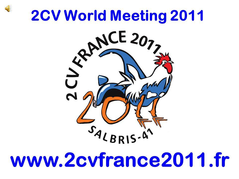 2CV World Meeting 2011 www.2cvfrance2011.fr