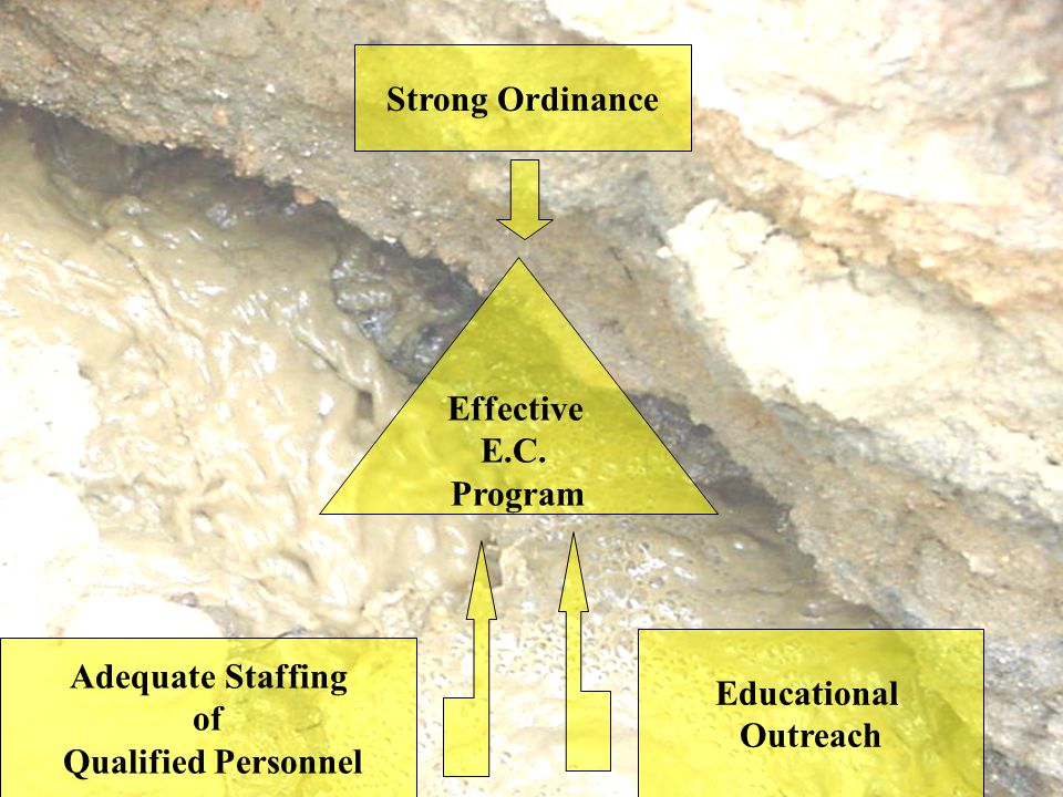 Effective E.C. Program Strong Ordinance Adequate Staffing of Qualified Personnel Educational Outreach