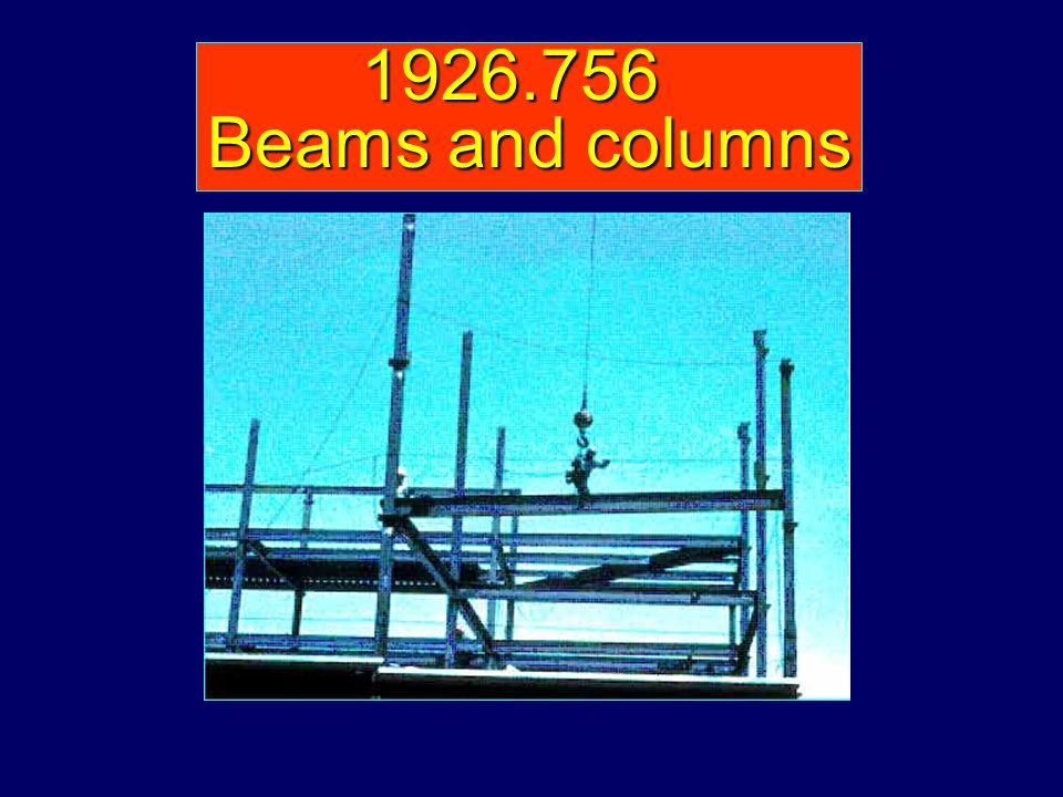 1926.756 Beams and columns