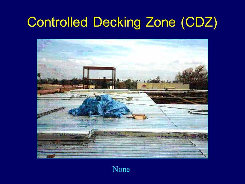 Controlled Decking Zone (CDZ) None