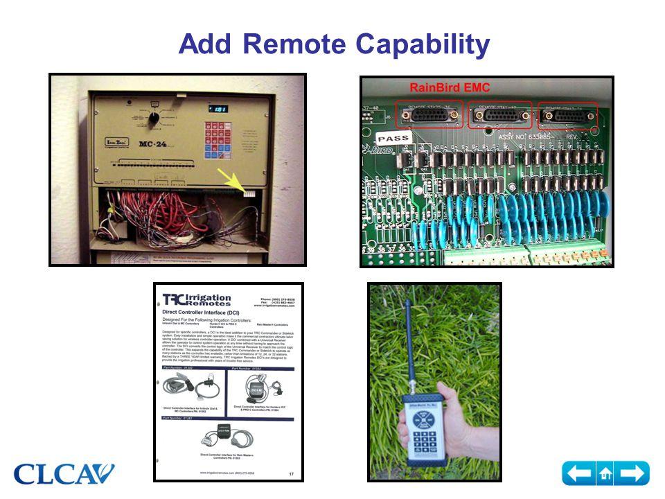 Add Remote Capability