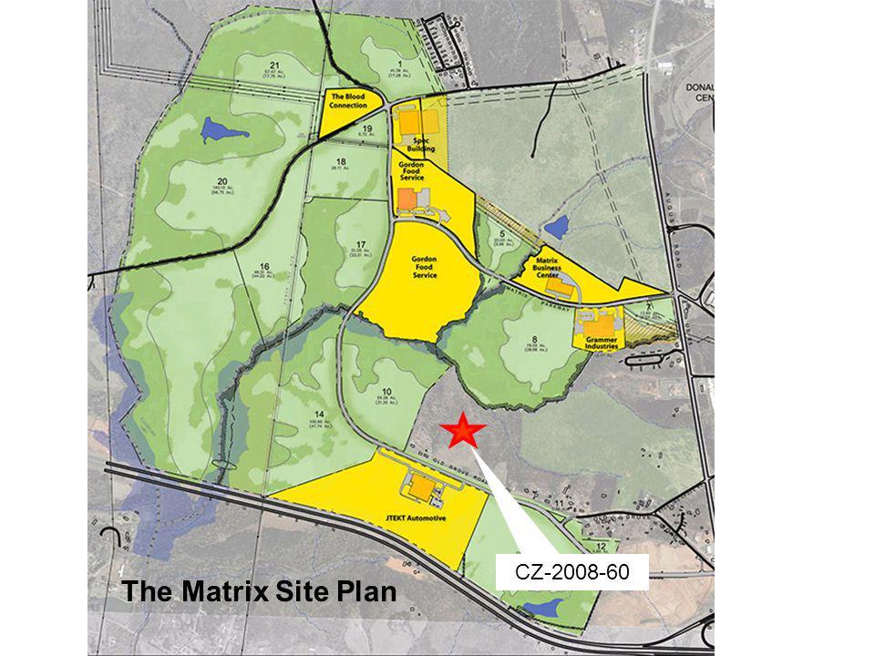 The Matrix Site Plan CZ-2008-60