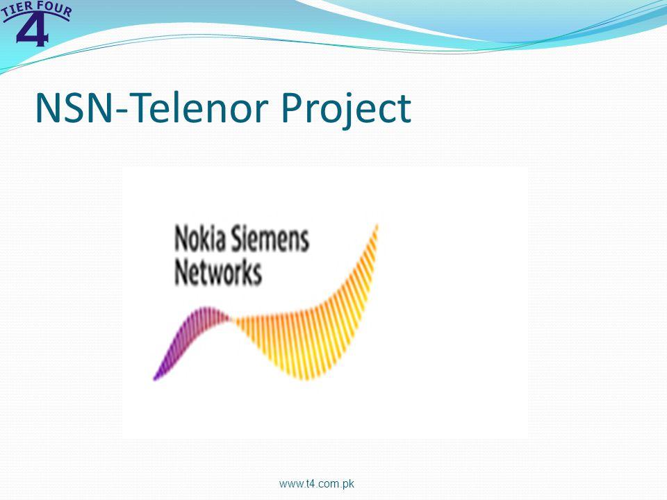 NSN-Telenor Project www.t4.com.pk