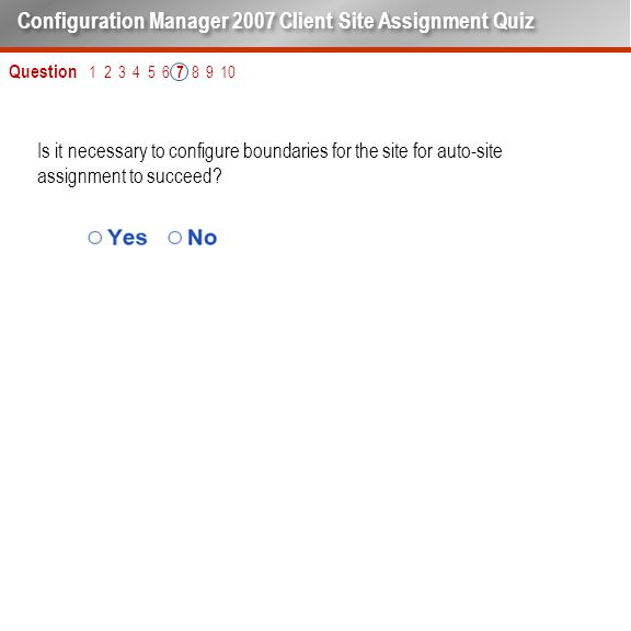 Is it necessary to configure boundaries for the site for auto-site assignment to succeed.