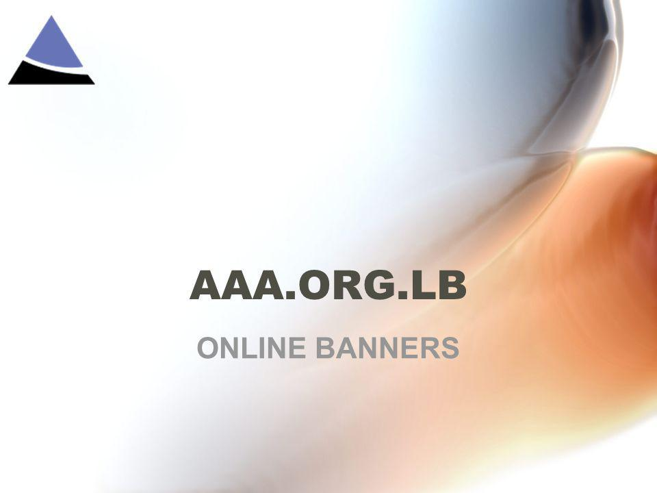 AAA.ORG.LB ONLINE BANNERS