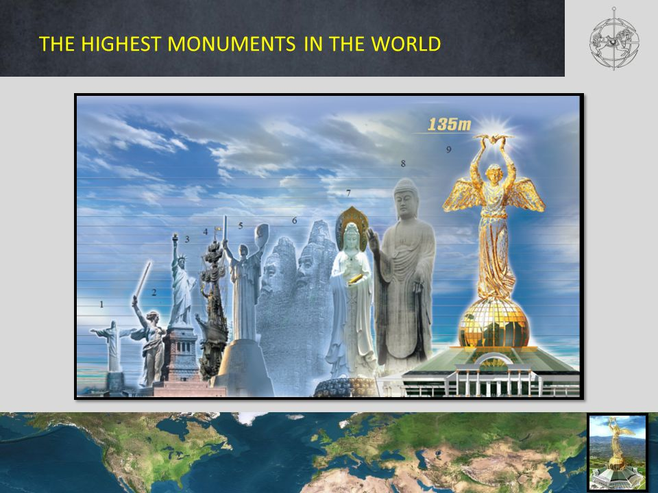 THE HIGHEST MONUMENTS IN THE WORLD