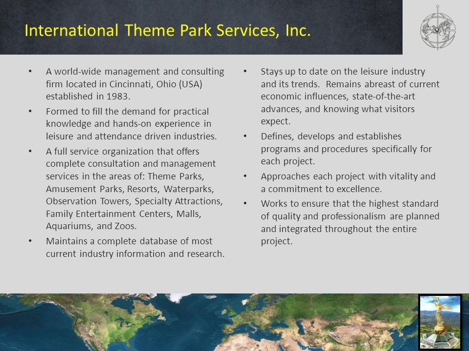 International Theme Park Services, Inc.