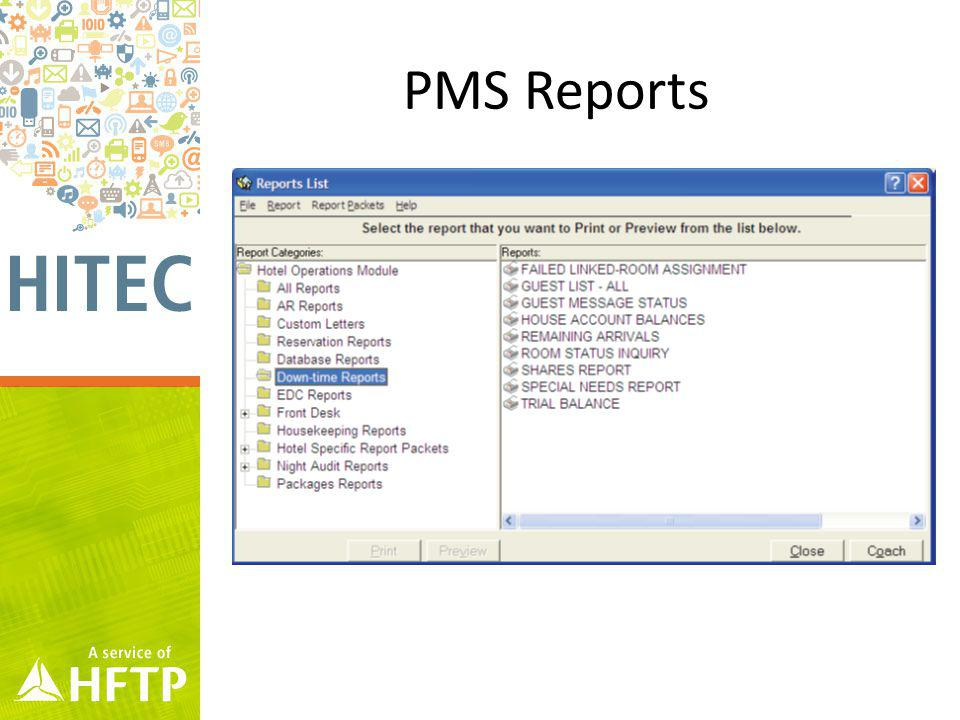 PMS Reports