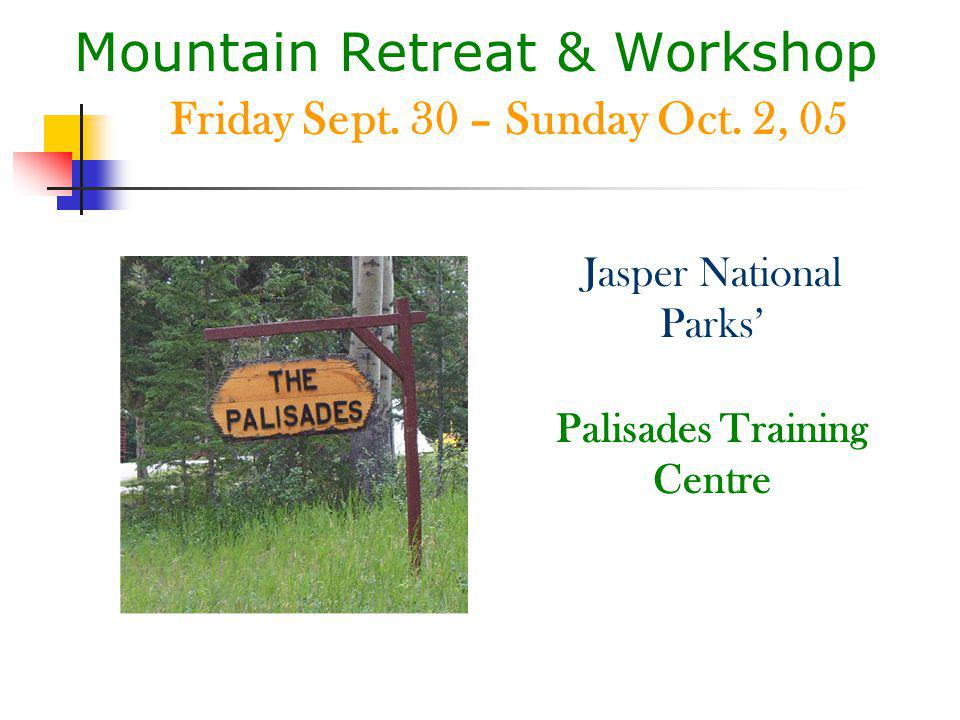 Mountain Retreat & Workshop Complementary Wellness Strategies presents Exploring Your Innermost The Journey Within