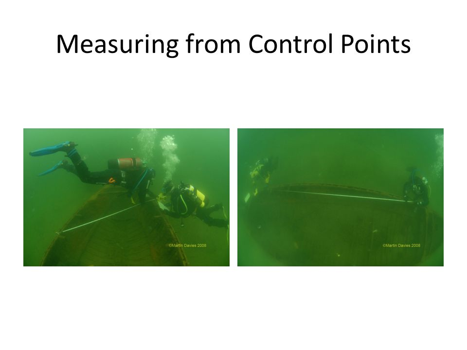 Measuring from Control Points
