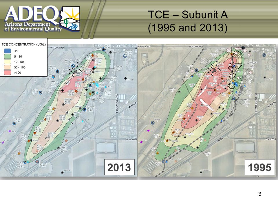 TCE – Subunit A (1995 and 2013) 3