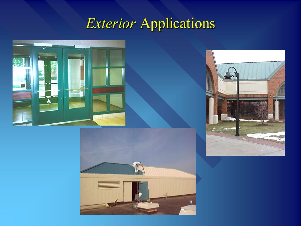 Exterior Applications