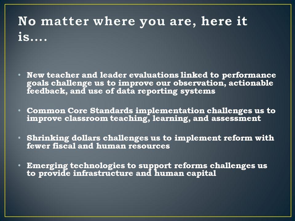 Fragmentation of implementation resulting in work done for little return on improved student learning….