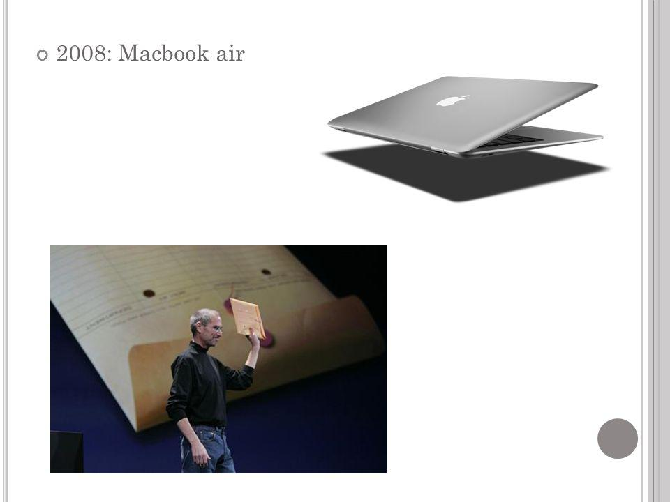 2008: Macbook air