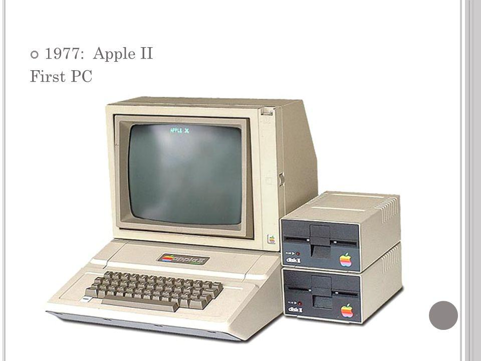 1977: Apple II First PC