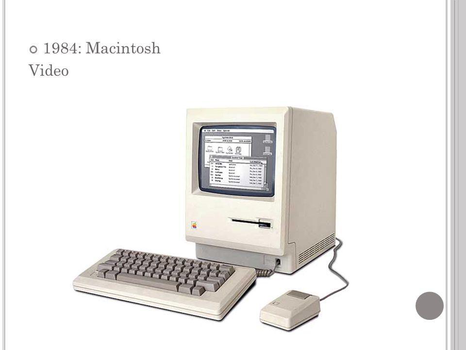 1984: Macintosh Video