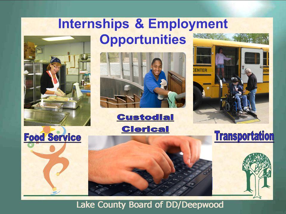 Internships & Employment Opportunities