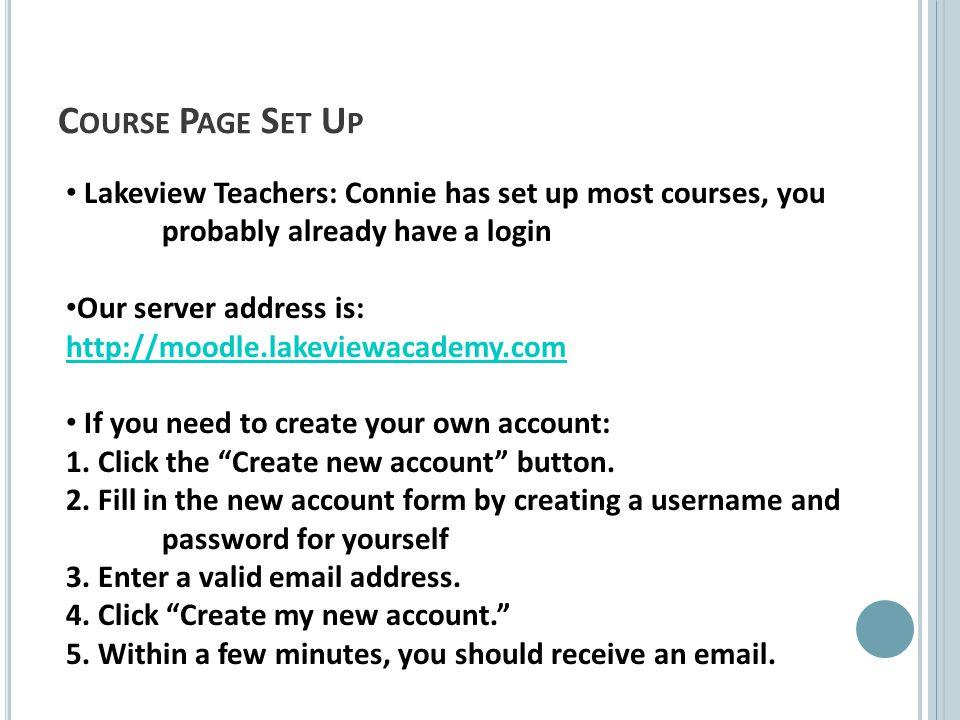 Other Activities: Add a Wiki Add a Blog Add a Workshop