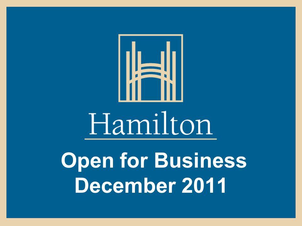 Open for Business December 2011