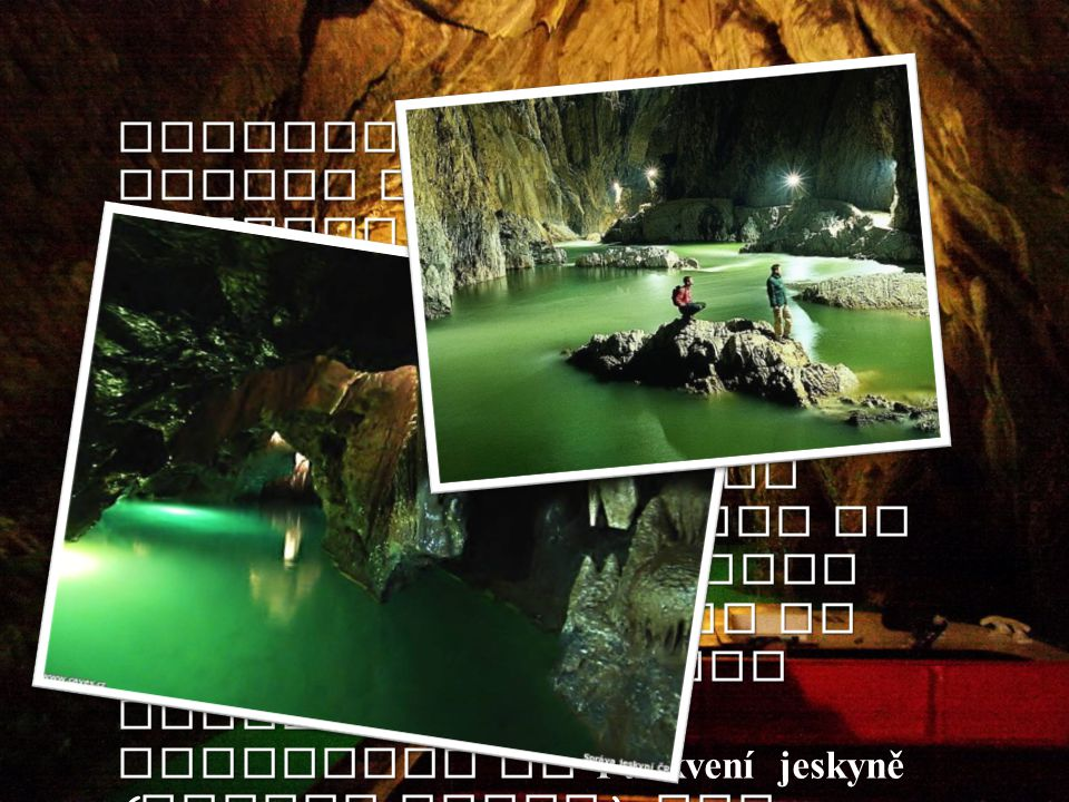 Underground River Punkva is made by several local brooks which became bigger river underground. It is coming from north part of Moravský kras ( Moravi