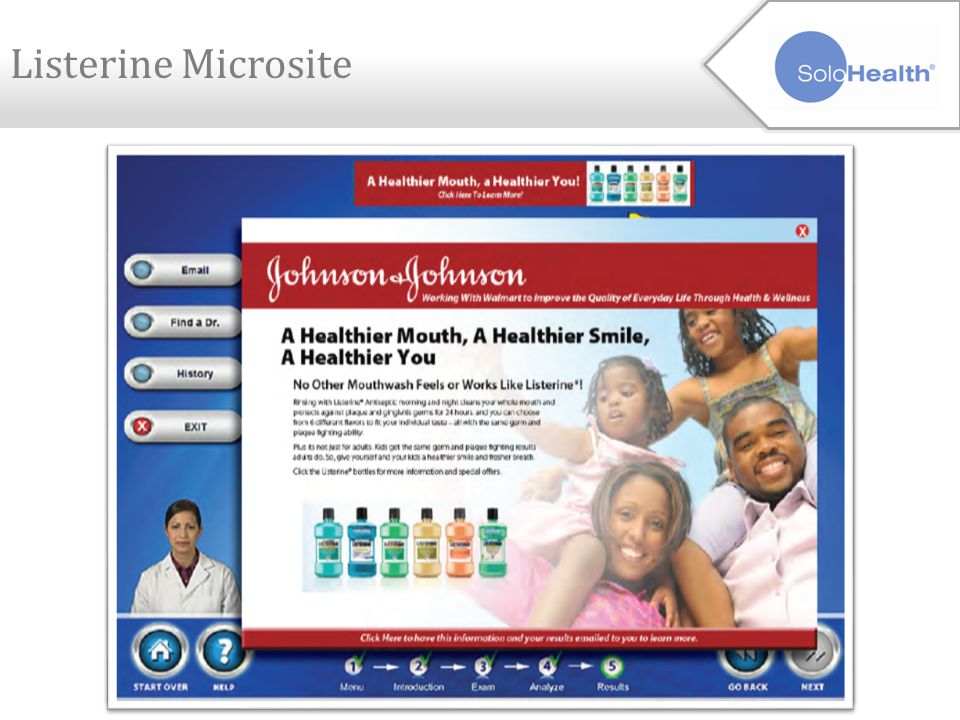 Microsite - Template & Specifications Erase Click Here to Learn More from the banner ads