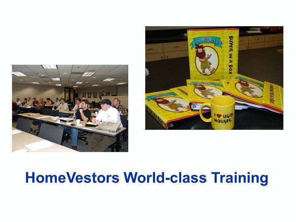 HomeVestors World-class Training