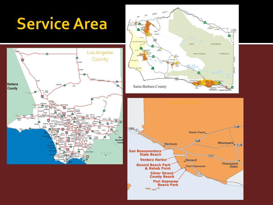 Ventura County Los Angeles County