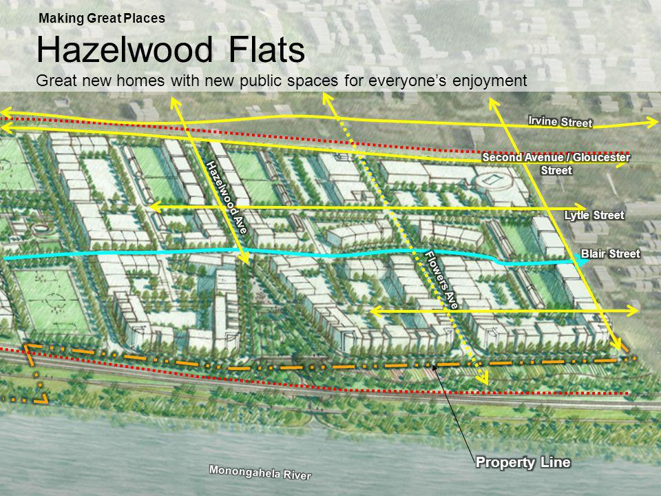 Making Great Places Hazelwood Flats Great new homes with new public spaces for everyones enjoyment