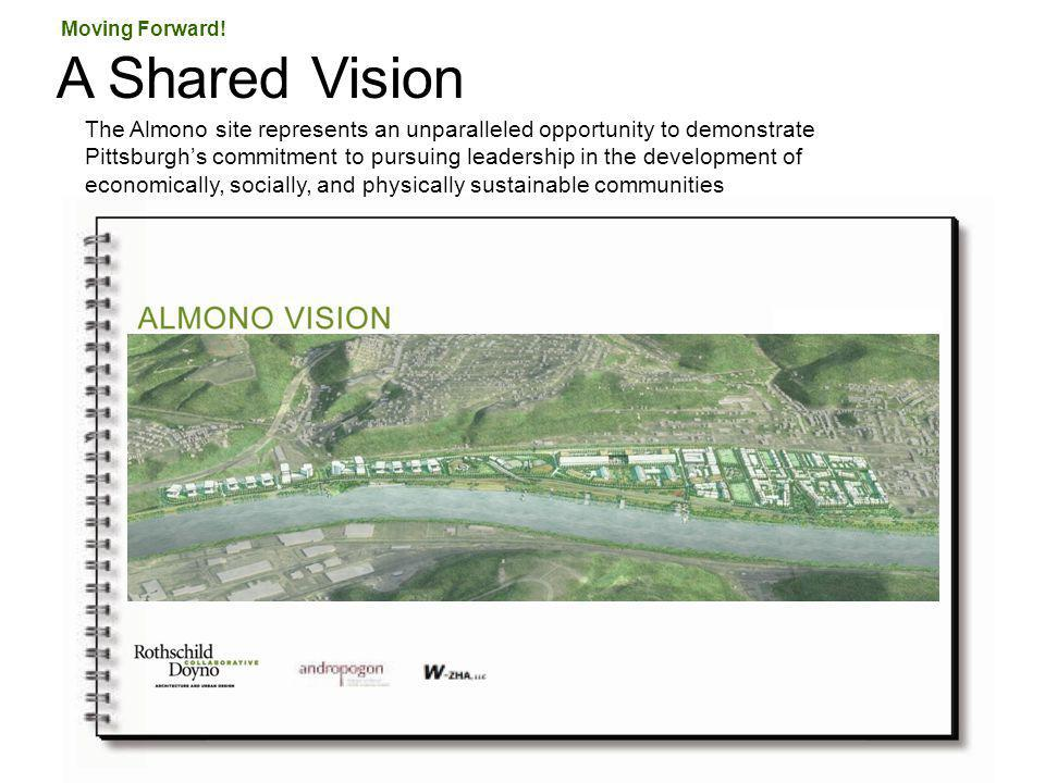 A Shared Vision Moving Forward! The Almono site represents an unparalleled opportunity to demonstrate Pittsburghs commitment to pursuing leadership in