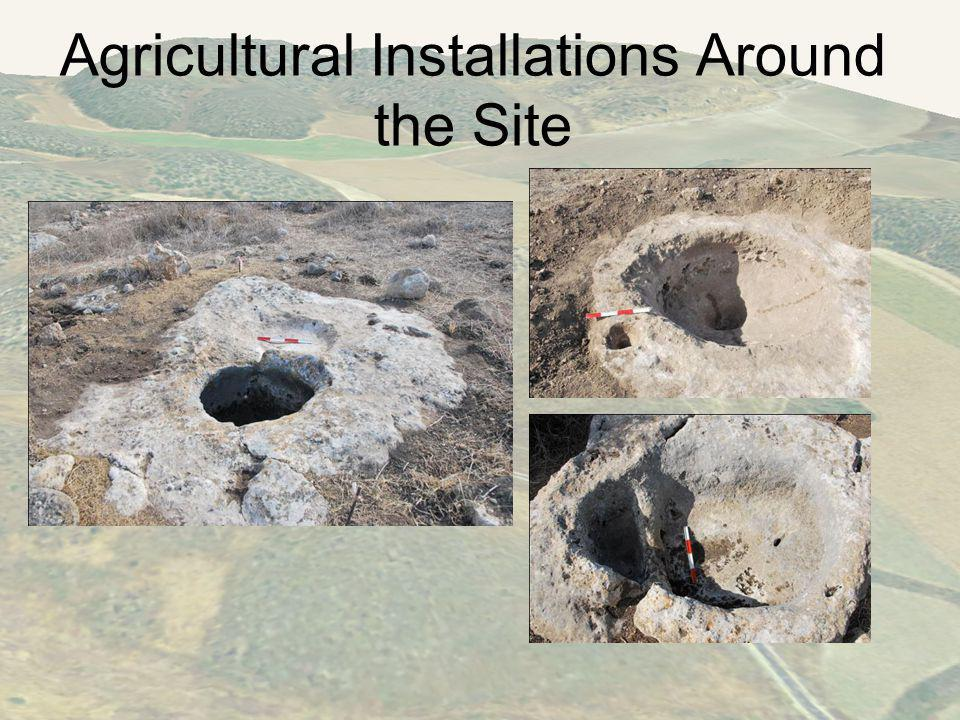 Agricultural Installations Around the Site