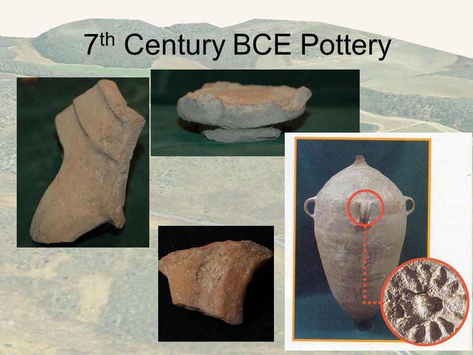7 th Century BCE Pottery
