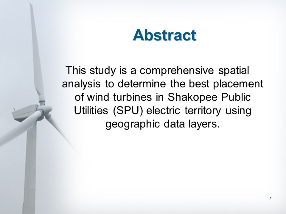 23 Cost Effective Analysis Takes into consideration sites with the greatest return on the investment of the wind turbine –evaluating the wind resource for the greatest wind speed and direction –indicate land cost value which is more costly to buy or lease the land –maintain low cost for construction and maintenance of the site